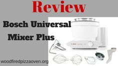 The Bosch Universal Mixer Plus is a stand mixer that kneads large amounts of bread and pizza dough with ease. Bosch Mixer, Wood Fired Pizza, Stand Mixer, Cool Kitchens, Firewood, Oven, Kitchen Appliances, Diy Kitchen Appliances, Woodburning