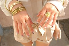 nails and jewelry