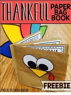Thanksgiving activities for students Thanksgiving BookUse this fun interactive paper bag book for your students to share what they are thankful for. Each page of the book includes space for them to illustrate November Holidays, School Holidays, November Crafts, October, Thanksgiving Books, Thanksgiving Projects, Kindergarten Thanksgiving Crafts, Thanksgiving Activities For Preschool, November Thanksgiving