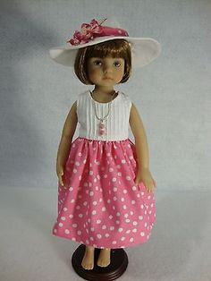 "OOAK OUTFIT FOR 13"" EFFNER LITTLE DARLINGS DOLLS"