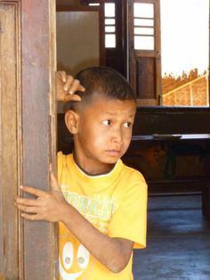 Children at a School near Shwe Inn Tain – Inle Lake, Myanmar