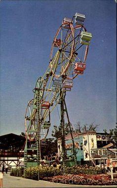 Vintage Cedar Point, Double Ferris Wheel.