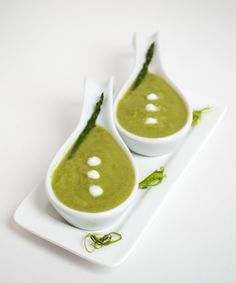Asparagus Soup. #fingerfood #shopfesta The lemon was overpowering, I would decrease it next time. Is visually excellent