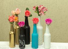 Tutorial | Como tirar rótulos e pintar garrafas de vidro