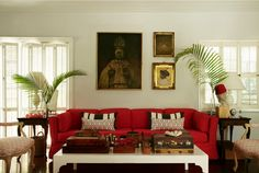 Go Inside the Chic Bahamas Retreat of Designer India Hicks : Architectural Digest Interior Design Living Room, Living Room Designs, Living Room Decor, Living Rooms, Design Room, Architectural Digest, Family Room, House Design, Furniture