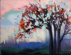"""Stephanie Warburg """"Central Park in Winter"""""""