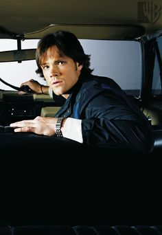 Supernatural Sam in the Impala