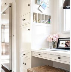 entryway mail center - perfect for keeping you and your family organized! More great tips from NEAT Method on their blog