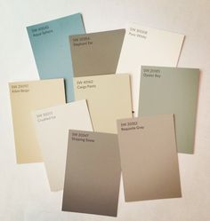 So I recently learned that Sherwin Williams entire numbering system is in the process of changing! Many of you familiar with the system know it was a 4 number system, and now they're going to a 5 ...