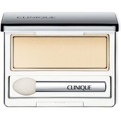 Clinique All About Shadow Single (€15) ❤ liked on Polyvore featuring beauty products, makeup, eye makeup, eyeshadow, beauty, eyes, cosmetics, french vanilla, clinique eye shadow and clinique eye makeup