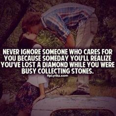 Don't ignore your diamond!