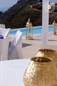 Wedding of Marie Cristine and Mircea – Rocabella, Santorini, Candelabra, Santorini, Photo Galleries, Table Decorations, Lighting, Gallery, Opera, Furniture, Home Decor