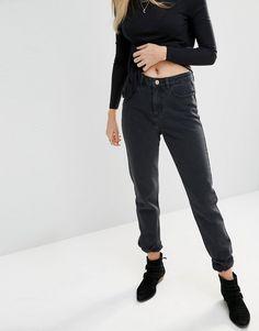 Image 1 ofNoisy May Donna High Waist Mom Jeans