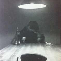 "theparisreview:  Carrie Mae Weems, ""Untitled (Phone),"" 1990, black-and-white photograph, silver print."