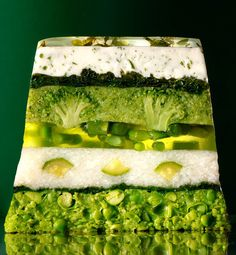 vegetable terrine (photo only) Food Design, Vegetarian Recipes, Cooking Recipes, Healthy Recipes, Vegetable Dishes, Creative Food, Fruits And Veggies, Food Inspiration, Tapas