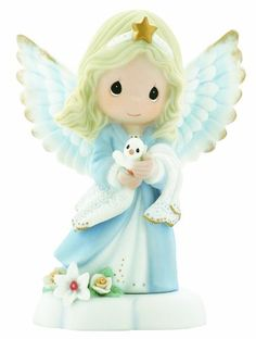 "Precious Moments ""In The Radiance Of Heaven's Light"" Figurine - Figurine, Heaven's, Light, Moments, Precious, Radiance"