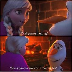 Awwww (: I love Olaf