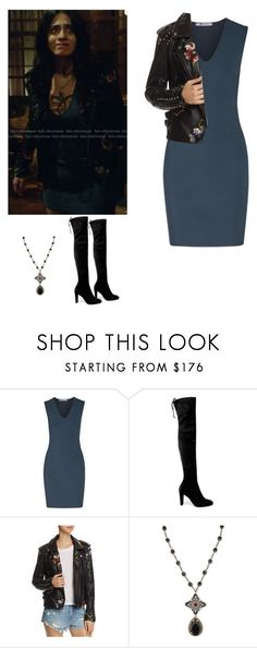 """Isabelle Lightwood - Shadowhunters"" by shadyannon ❤ liked on Polyvore featuring T By Alexander Wang, Stuart Weitzman, BLANKNYC and Alexander McQueen"