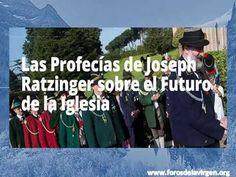 Las Profecías de Joseph Ratzinger sobre el Futuro de la Iglesia - YouTube Bento, Videos, Youtube, Optimism, Virgin Mary, Future Tense, Video Clip, Bento Box