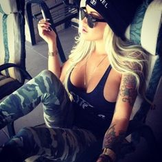 {swag.}  #hottieswithtattoos #tattoos #womenwithtattoos