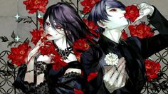 Download Rize Kamishiro and Shuu Tsukiyama Tokyo Ghoul 1920x1080