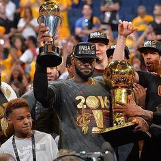 Just a kid from Akron has now won 3 NBA championships! ❤️ #Akron #ohio #cavs #kingjames#lebron #lebronjames #lbj #mvp #champions #nbafinals #nba #cavaliers #cleveland #basketball #finals #nbafinals #game7