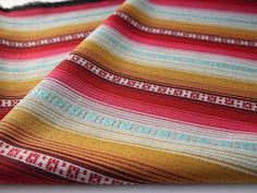 Tribal Fabric Latin American Woven Fabric by the yard!