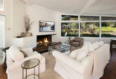 Living room by Becker Studios/MILLWORKS @sbmillworks @beckerstudios