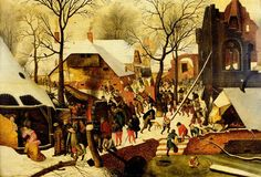 An incredible Bruegel Adoration of the Magi