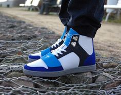 CREATIVE RECREATION CR439 CEASARIO WHITE ROYAL NAVY | funkyshoes.pl