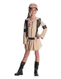 "#Ghostbusters kids girl classic costume, #small, age 3 - 4, #height 3' 8"" - 4,  View more on the LINK: 	http://www.zeppy.io/product/gb/2/201426924884/"