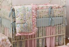 Beautiful baby bedding by johnnie