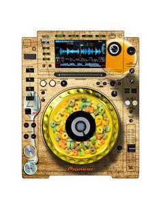 Pioneer CDJ 2000 Remix Art Contest Djs love art too and artists love music. Pioneer Cdj 2000, Pioneer Dj, Dj Electro, Dj Remix, Dj Equipment, Electronic Music, Love Art, Star Trek, Techno