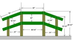 Free Garden Bridge Plans