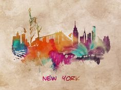 New York City skyline by jbjart