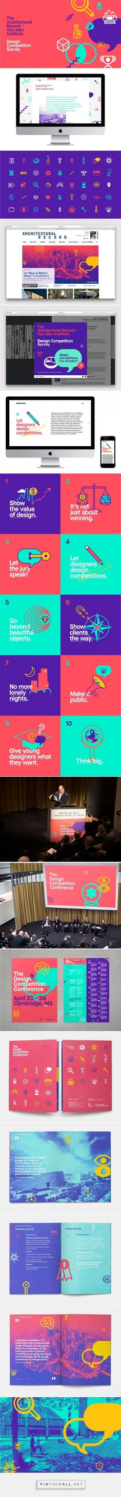 Bruce Mau Design | The Design Competition Survey & Conference | Work http://www.brucemaudesign.com/work?project_id=118 - created via