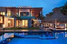 World of #Architecture: #Modern #Villa On The #Beach In #Mexico | #worldofarchi #house #exotic