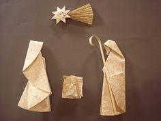 Lina Origami: Presépio