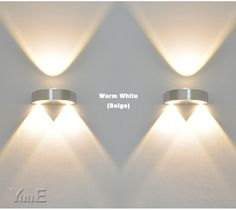 Indoor 3W LED Wall Lamp AC110V/220V bedroom Decorate sconce Cold White / Warm…