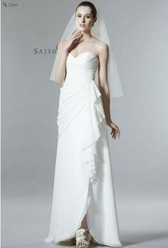 Saison Blanche Wedding Gown - Boutique Collection - Style #B3157