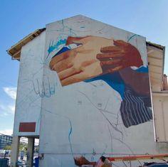 Mama Argentina de l'Artiste Street Art Case Ma'Claim à Buenos Aires (2)