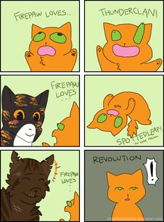 Firepaw Loves... (Meme) by DrawMachine030//XD
