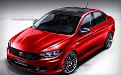 Fiat Tipo Abarth? Not likely to see production but an interesting idea #abarth #fiat #enzari #cars #italia