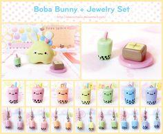 Boba Bunny and Jewelry Set by Oborochann.deviantart.com on @deviantART