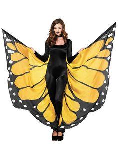 Schmetterlingsflügel XXL ★ Festival Flügel kaufen ★ maskworld.com
