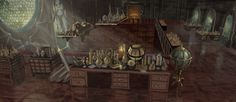 Wizard's Apothecary by Rusty001.deviantart.com on @DeviantArt