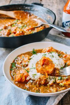 This shrimp etouffee recipe is the result of a road trip down to new orleans. It's an easy dish of juicy shrimp in a rich, spicy sauce...what's not to like?