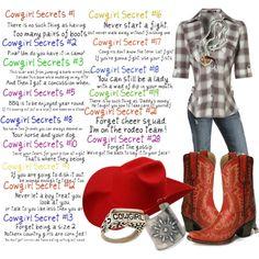 cowgirl secret | COWGIRL SECRETS - Polyvore