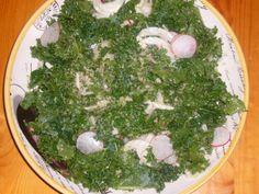 Kale, Fennel, Radish Salad