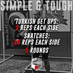 Simple and Tough Kettlebell Workout